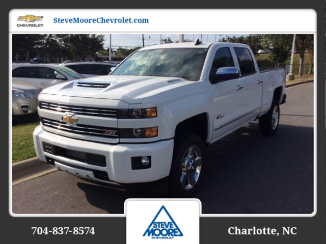 2018 Silverado 2500 Crew Cab 4x4, Pickup #JF155733 - photo 1