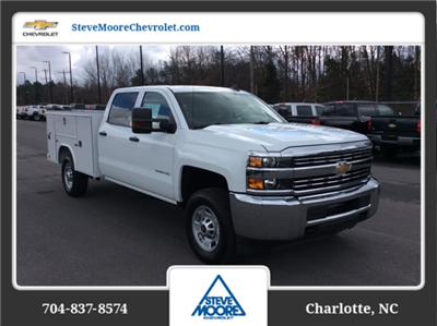 2018 Silverado 2500 Crew Cab 4x4, Reading SL Service Body #JF160380 - photo 3