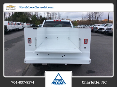 2018 Silverado 2500 Crew Cab 4x4, Reading SL Service Body #JF160380 - photo 7
