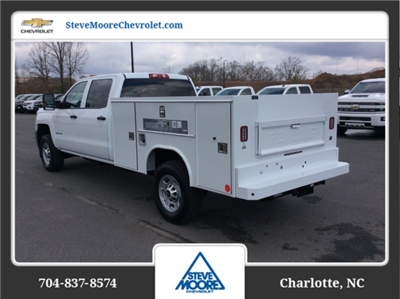 2018 Silverado 2500 Crew Cab 4x4, Reading SL Service Body #JF160380 - photo 2