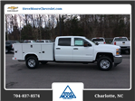 2018 Silverado 2500 Crew Cab 4x4, Reading SL Service Body #JF160380 - photo 4