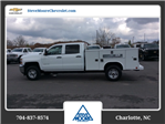 2018 Silverado 2500 Crew Cab 4x4, Reading SL Service Body #JF160380 - photo 8