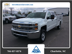 2018 Silverado 2500 Crew Cab 4x4, Reading SL Service Body #JF160380 - photo 1