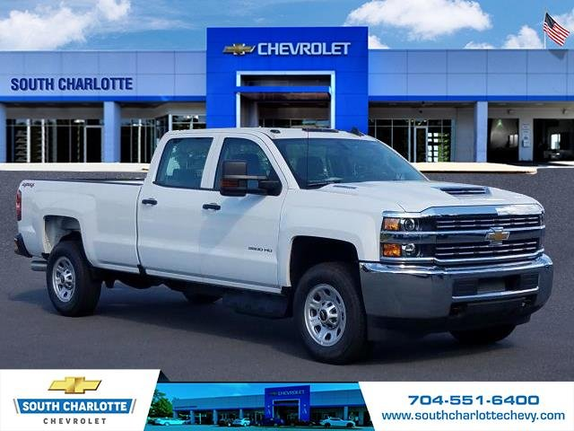 2018 Silverado 3500 Crew Cab 4x4, Pickup #JF185539 - photo 3