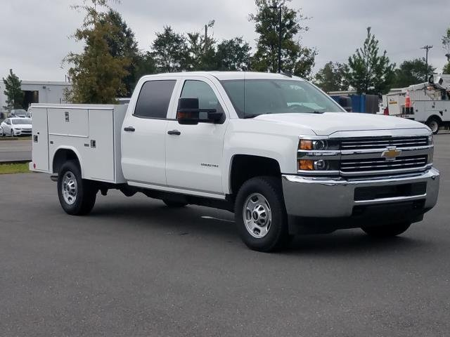2018 Silverado 2500 Crew Cab 4x4,  Reading Service Body #JF202174 - photo 5