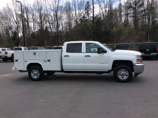 2018 Silverado 2500 Crew Cab 4x4,  Reading Service Body #JF202174 - photo 6
