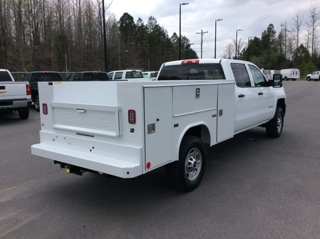 2018 Silverado 2500 Crew Cab 4x4,  Reading Service Body #JF202174 - photo 8