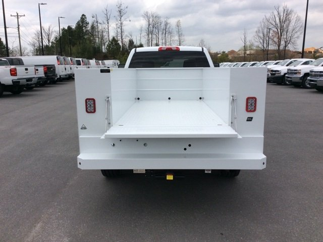 2018 Silverado 2500 Crew Cab 4x4,  Reading Service Body #JF202174 - photo 4
