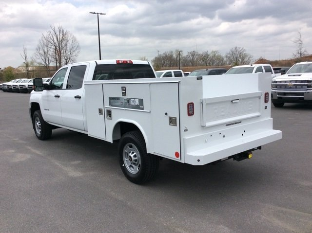 2018 Silverado 2500 Crew Cab 4x4,  Reading Service Body #JF202174 - photo 2