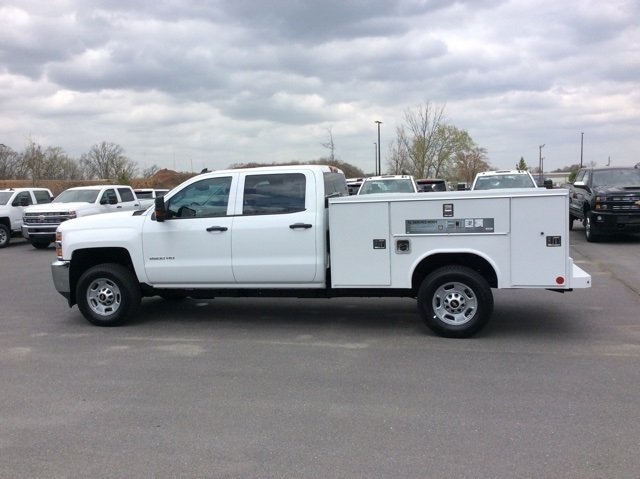 2018 Silverado 2500 Crew Cab 4x4,  Reading Service Body #JF202174 - photo 3