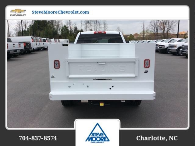 2018 Silverado 2500 Crew Cab 4x2,  Reading SL Service Body #JF223896 - photo 6