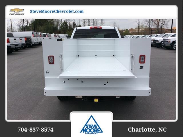 2018 Silverado 2500 Crew Cab 4x2,  Reading SL Service Body #JF223896 - photo 7