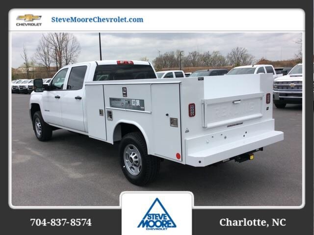 2018 Silverado 2500 Crew Cab 4x2,  Reading SL Service Body #JF223896 - photo 2