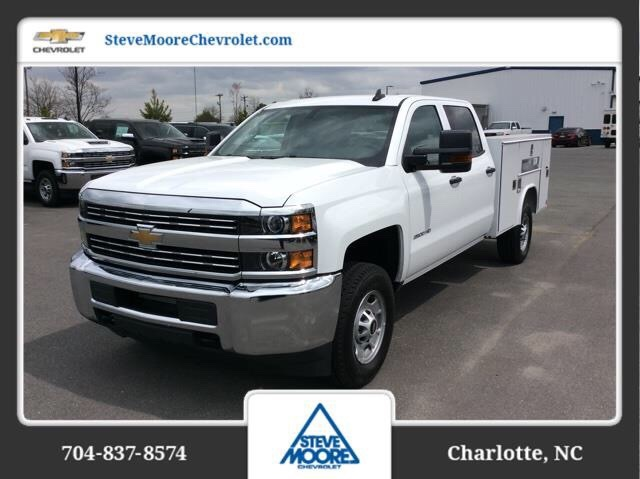 2018 Silverado 2500 Crew Cab 4x2,  Reading SL Service Body #JF223896 - photo 1