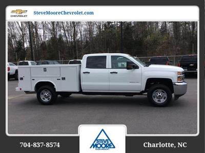 2018 Silverado 2500 Crew Cab 4x2,  Reading SL Service Body #JF223896 - photo 4