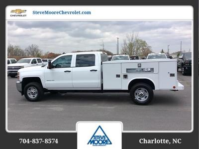 2018 Silverado 2500 Crew Cab 4x2,  Reading SL Service Body #JF223896 - photo 8