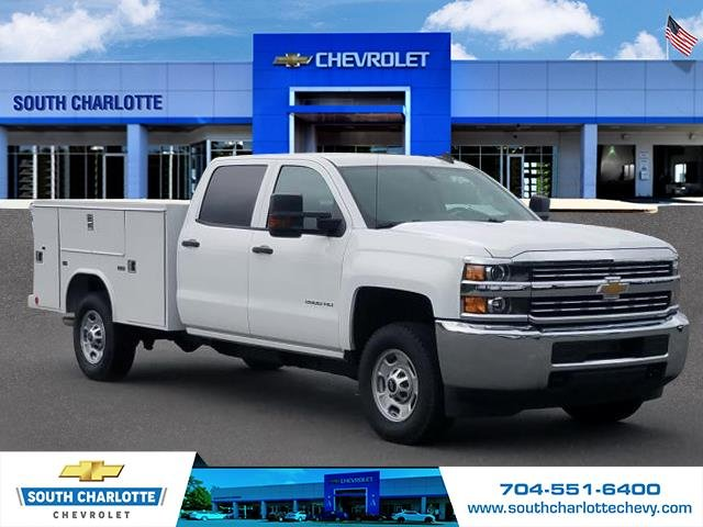 2018 Silverado 2500 Crew Cab 4x4,  Reading Service Body #JF259461 - photo 3