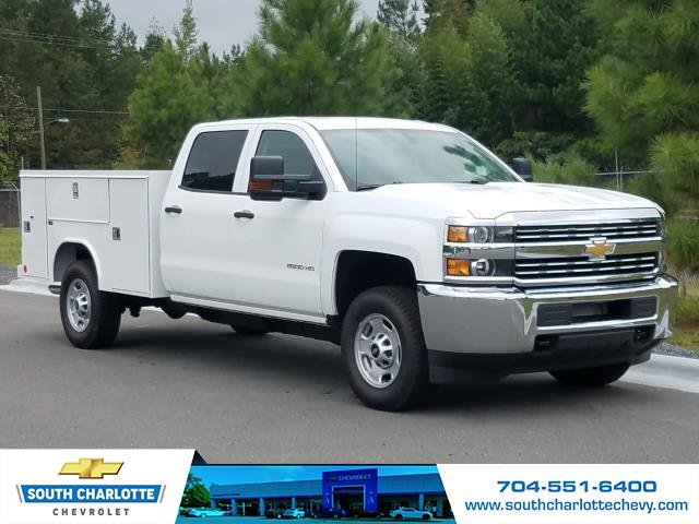2018 Silverado 2500 Crew Cab 4x4,  Reading Service Body #JF259461 - photo 4