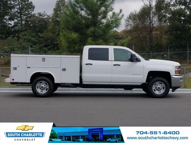 2018 Silverado 2500 Crew Cab 4x4,  Reading Service Body #JF259461 - photo 6