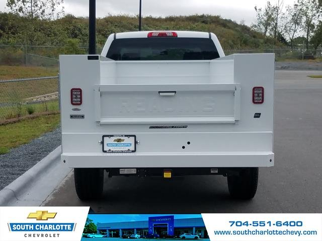 2018 Silverado 2500 Crew Cab 4x4,  Reading Service Body #JF259461 - photo 8
