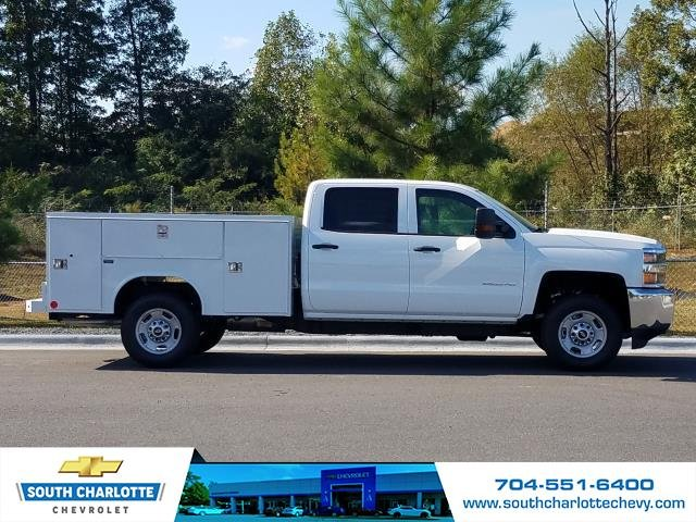 2018 Silverado 2500 Crew Cab 4x2,  Reading Service Body #JF281135 - photo 3