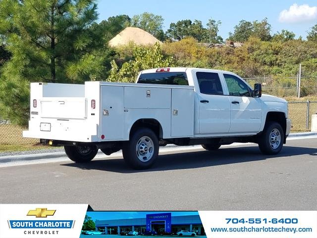 2018 Silverado 2500 Crew Cab 4x2,  Reading Service Body #JF281135 - photo 2