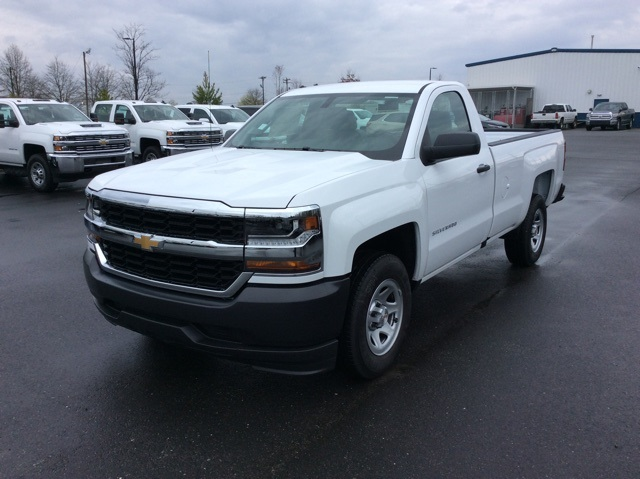 2018 Silverado 1500 Regular Cab, Pickup #JZ264272 - photo 1