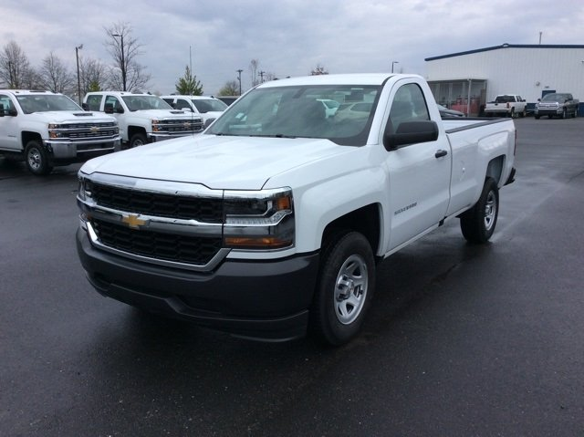 2018 Silverado 1500 Regular Cab 4x2,  Pickup #JZ270052 - photo 9