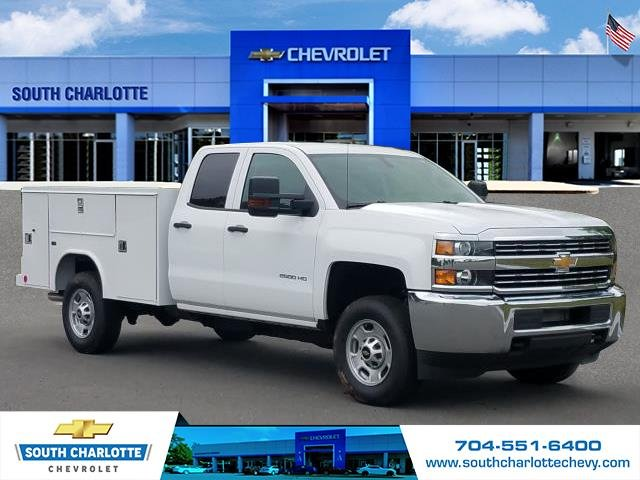 2018 Silverado 2500 Double Cab 4x4,  Reading Service Body #JZ323661 - photo 3