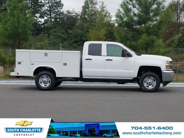 2018 Silverado 2500 Double Cab 4x4,  Reading Service Body #JZ323661 - photo 4