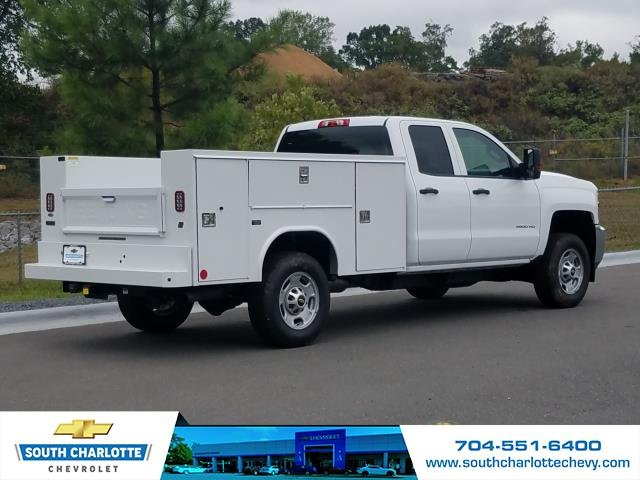 2018 Silverado 2500 Double Cab 4x4,  Reading Service Body #JZ323661 - photo 6