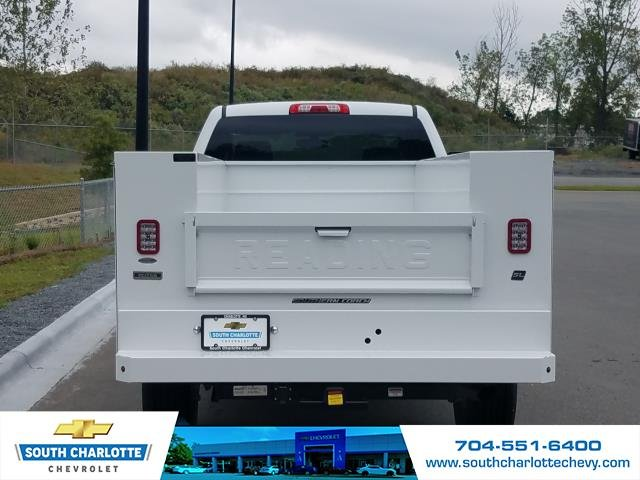 2018 Silverado 2500 Double Cab 4x4,  Reading Service Body #JZ323661 - photo 7