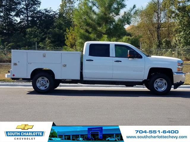 2019 Silverado 2500 Crew Cab 4x4,  Reading Service Body #KF114410 - photo 3