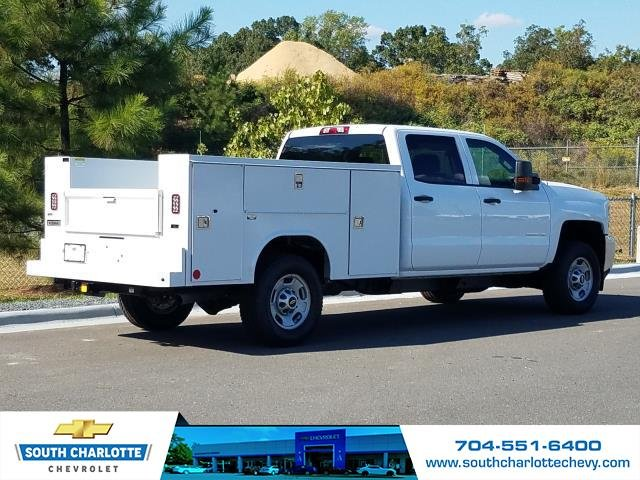 2019 Silverado 2500 Crew Cab 4x4,  Reading Service Body #KF114410 - photo 2