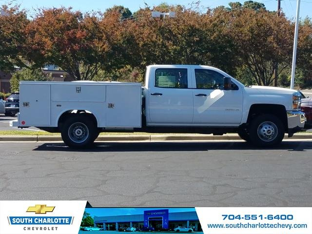 2019 Silverado 3500 Crew Cab DRW 4x4,  Reading Service Body #KF115578 - photo 3