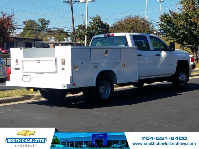 2019 Silverado 3500 Crew Cab DRW 4x4,  Reading Service Body #KF115578 - photo 2