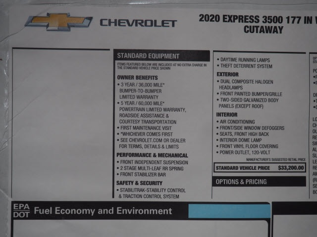 2020 Chevrolet Express 3500 DRW 4x2, Supreme Iner-City Dry Freight #LN009427 - photo 18