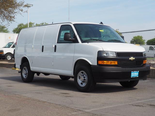 2021 Chevrolet Express 2500 4x2, Upfitted Cargo Van #M1215961 - photo 1