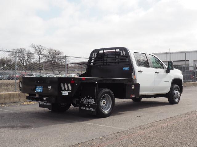 2021 Chevrolet Silverado 3500 Crew Cab 4x4, Platform Body #MF131825 - photo 1