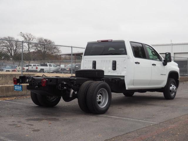 2021 Chevrolet Silverado 3500 Crew Cab 4x4, Cab Chassis #MF147348 - photo 1