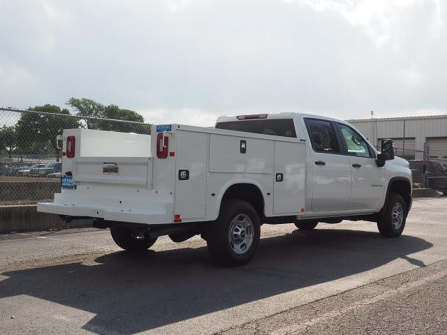 2021 Chevrolet Silverado 2500 Crew Cab 4x2, Service Body #MF172989 - photo 2