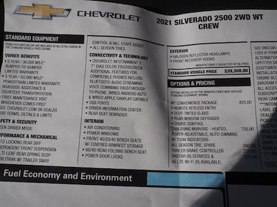 2021 Chevrolet Silverado 2500 Crew Cab 4x2, Service Body #MF173307 - photo 18