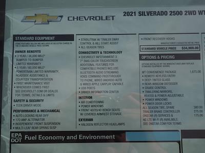 2021 Chevrolet Silverado 2500 Regular Cab 4x2, Harbor TradeMaster Service Body #MF185175 - photo 18