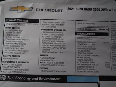 2021 Chevrolet Silverado 2500 Regular Cab 4x2, Knapheide Steel Service Body #MF222789 - photo 18