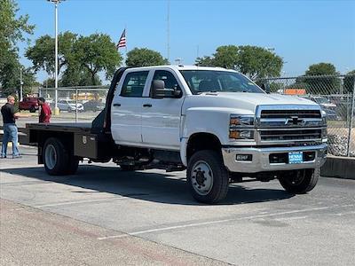 2021 Chevrolet Silverado 4500 Crew Cab DRW 4x4, CM Truck Beds RD Model Platform Body #MH609708 - photo 1