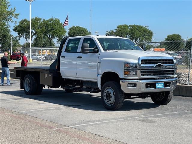 2021 Chevrolet Silverado 4500 Crew Cab DRW 4x4, CM Truck Beds Platform Body #MH609714 - photo 1