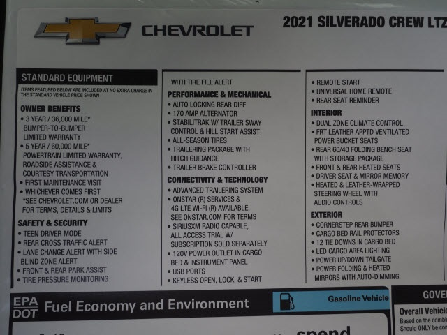 2021 Chevrolet Silverado 1500 Crew Cab 4x2, Pickup #MZ107696 - photo 18
