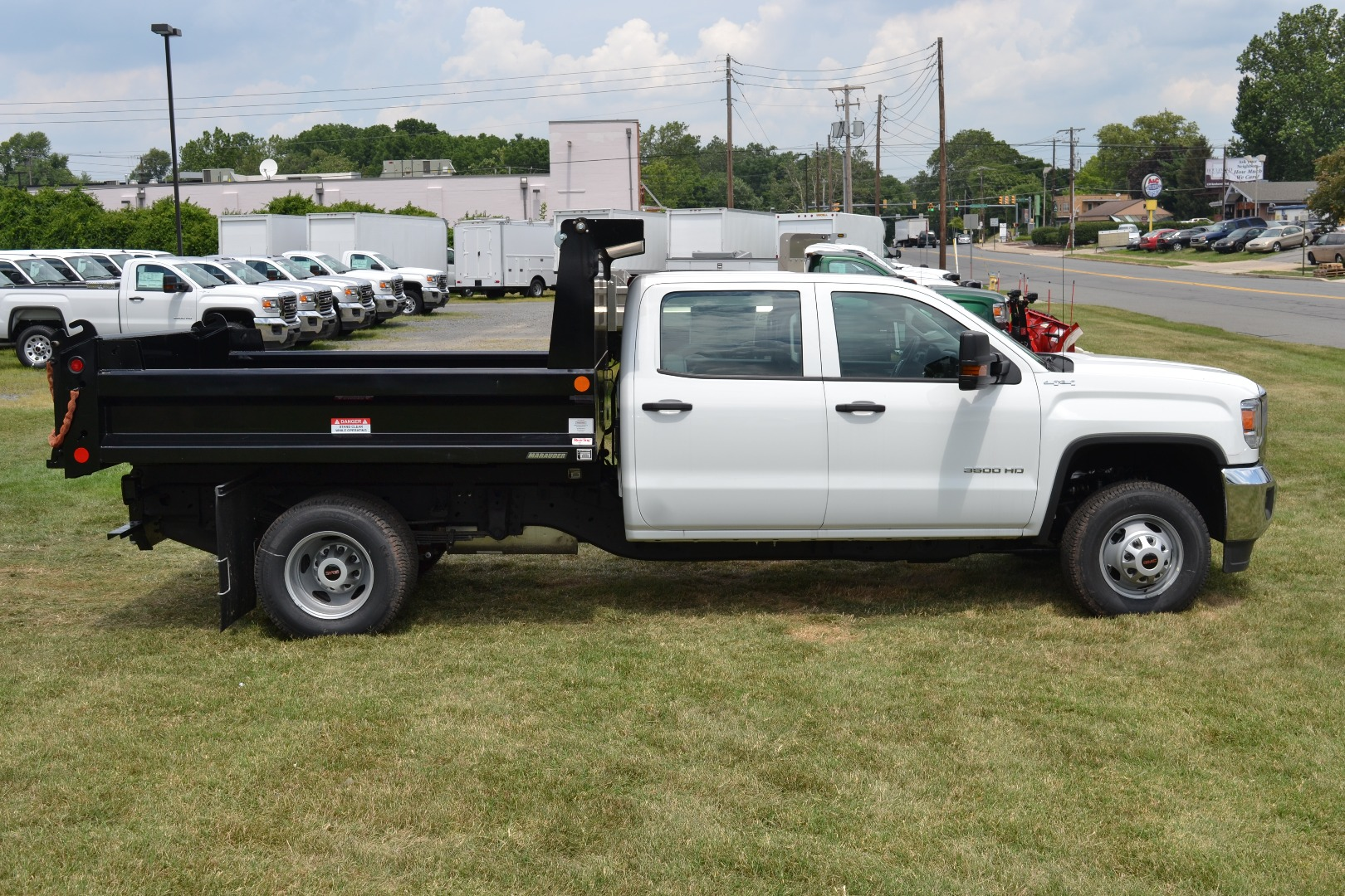 2016 Sierra 3500 Crew Cab 4x4, Cab Chassis #G16329 - photo 6