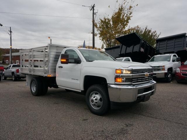 2017 Silverado 3500 Regular Cab DRW 4x4 Stake Bed #C171438 - photo 3