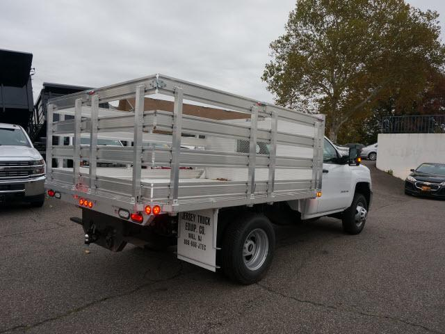 2017 Silverado 3500 Regular Cab DRW 4x4 Stake Bed #C171438 - photo 8